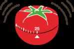 Cronometro culinário em forma de tomate