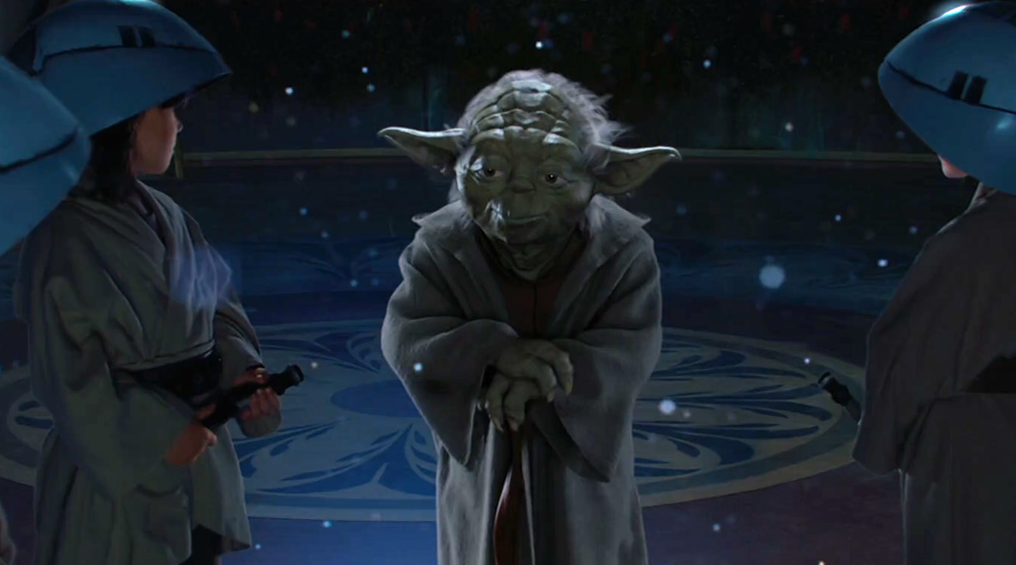 Yoda Star Wars Episódio II Guerra dos Clones